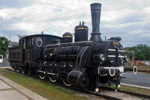 Vintage Steam Engine, Zagreb Main Station