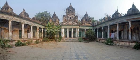 Choto Ras Bari, Tollygunge - Chetla area, Kolkata