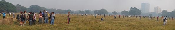 Panorama of Kolkata Maidan, Kolkata (Calcutta)
