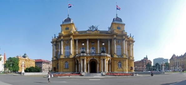 Croatian National Theatre (Hrvatsko Narodno Kazalište), Marshal Tito Square (Trg Maršala Tita), Zagreb