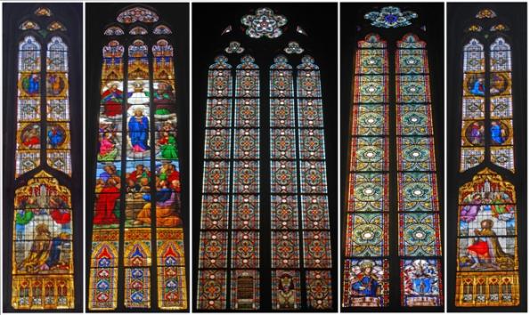Stained Glass Windows, Zagreb Cathedral, Kaptol, Zagreb