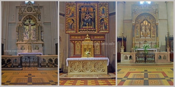 Marble Relief Work and Paintings, Zagreb Cathedral, Kaptol, Zagreb
