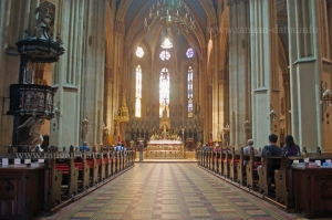 Interiors of Zagreb Cathedral, Kaptol, Zagreb