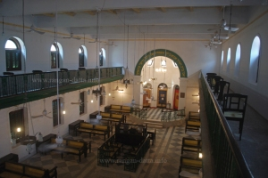 Interiors of Nevheh Shalome Synagogue, Kolkata
