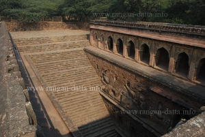 The Broad Staircase of Rajon Ki Baoli, Mehrauli