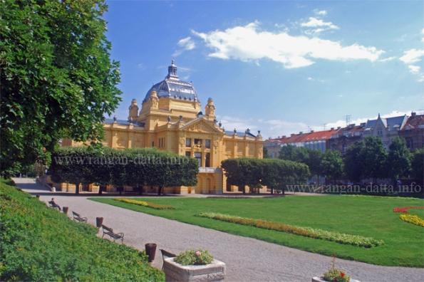 The Art Pavilion, King Tomislav Square, Zagreb