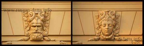 Stucco Art, The Art Pavilion, Zagreb