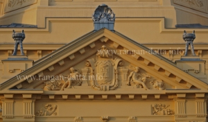Decorative Pediment, The Art Pavilion, Zagreb