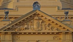 Decorative Pediment, The Art Pavilion, Zagreb