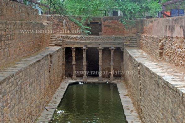 Gandhak Ki Baoli, Mehrauli Archaeological Park, Mehrauli, Delhi