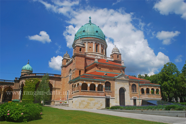 Church of Christ the King, Mirogoj Cemetery, Zagreb, Croatia