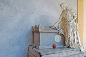 Sculptures, Mirogoj Cemetery, Zagreb