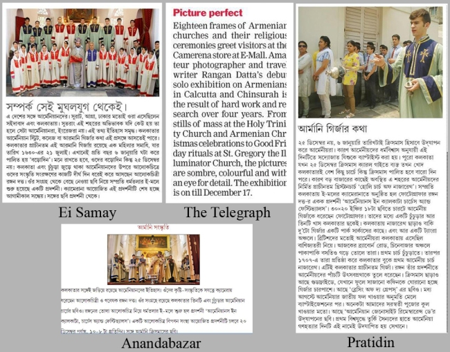 Collage of News Paper Coverage