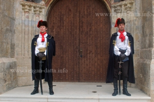 Changing of Guards, Kravat Regiment, St. Mark's Square, Zagreb