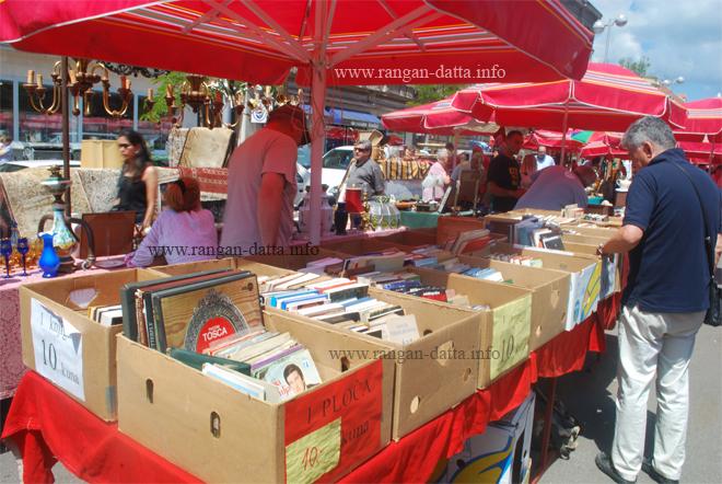 Flea Market, Britanski trg (British Square), Zagreb ...