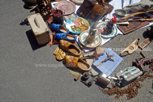 Miscellaneous items. Zagreb's Flea Market