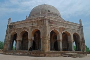 Adam Khan's Tomb, Mehrauli, Delhi