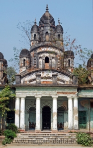 The Naba Ratna (Nine Pinnacled) Temple of Choto Ras Bari