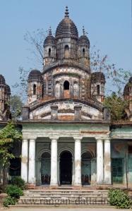 The Naba Ratna (Nine Pinnacled) Temple of Choto Ras Bari