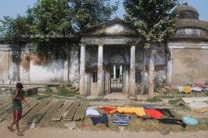 Gate of Choto Ras Bari, Tollygumge - Chetla Area, Kolkata