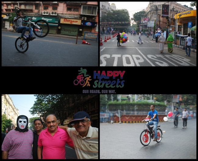 Happy Street, Park Street, Kolkata, a Times of India initiative