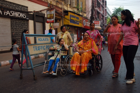 Wheel Chairs on Happy Street