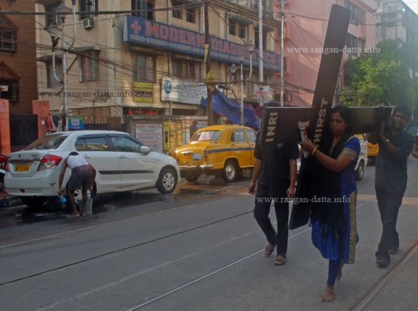 Seven Church Walk, Good Friday, Kolkata (Calcutta)