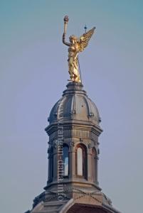 Statue of angel, King Tomislav Square, Zagreb