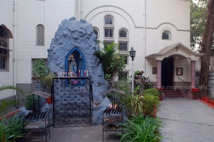 Grotto at the entrance of Carmelite Convent, Kolkata