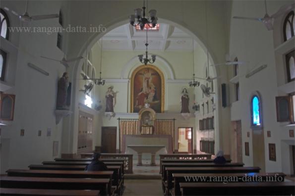 Carmelite Convent Chapel. Outram Stret, Kolkata