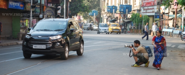 Photographer Sammyabrata in action, Chitpur Local Photowalk