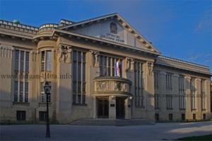 Croatian State Archive, Marulić Square, Zagreb