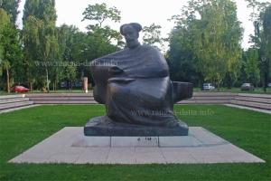 Statue of Marko Marulić, Marulić Square, Zagreb