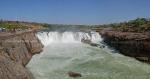 Dhuandhar Waterfall, Bhedaghat, Jabalpur. Madhya Pradesh (MP)
