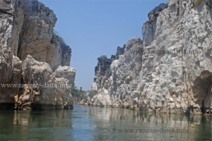 Bandar Kodini (Monkey's Leap), Marble Rocks, Jabalpur, MP