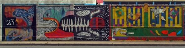 Zagreb Street Art Museum, Graffiti Wall, Branimirova Street, Zagreb