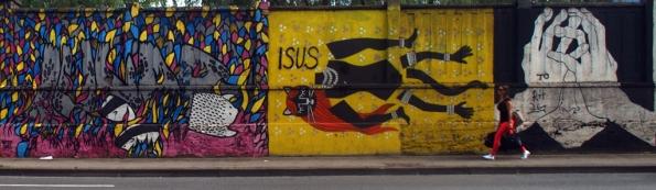 The Lady is real!!!! Graffiti Wall, Branimirova Street, Zagreb