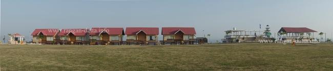 Cottages at the Hanuwantiya Tourist Complex