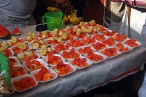 Cut Fruits, Ramzan (Ramadan) Food Street