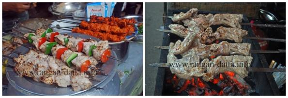 Assortments of Kababs, Ramzan Food Street