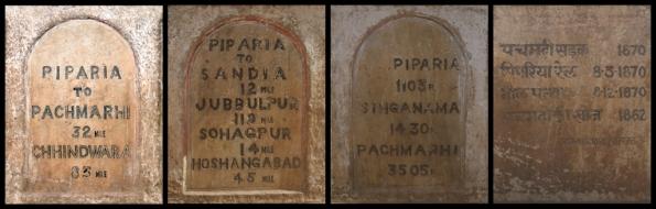 Milestone Plaques, Piparia, Madhya Pradesh (MP)