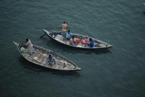 Wooden Boats, Buriganga, Dhaka