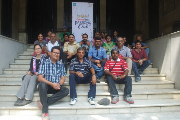 Group Photo, Calcutta Times, Passion Club, Heritage Walk of Confluence of Cultures.