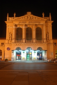 Glavni Kolodvor (Main Railway Station), Zagreb at night