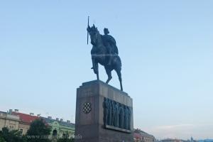 Statue of King Tomislav, Tomislav Square, Zagreb