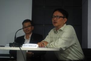 Bean Ching Law (Binny) introducing the Deoli Interns