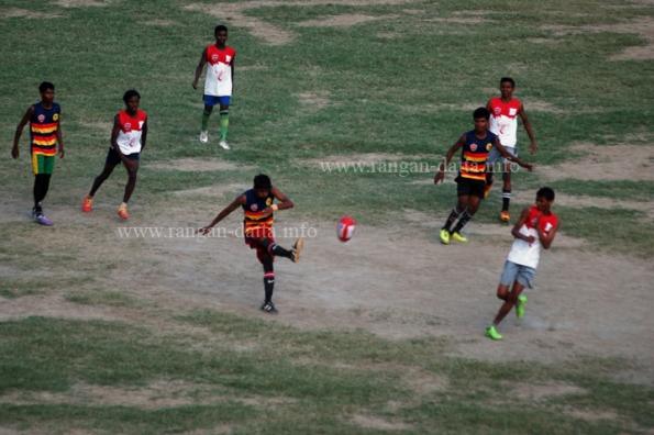 Action at 4th Australian Football League (AFL) India, Gitanjali Stadium, Kolkata
