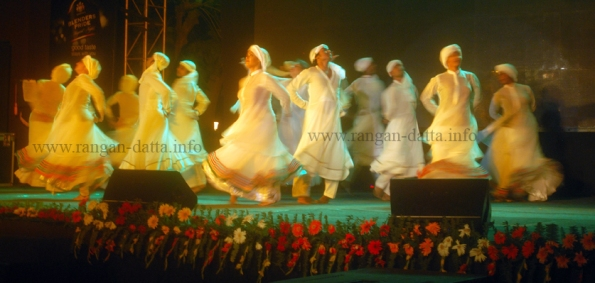 Dance performance by Tanusree Shankar Dance Company, Fighting for Peace, Cultural Programme, Lascar Memorial, Kolkata