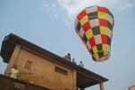 Up she goes. Sachin Mukherjee's Fanush