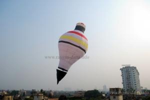 Sachin Mukherjee's top (Lattu) fanush
